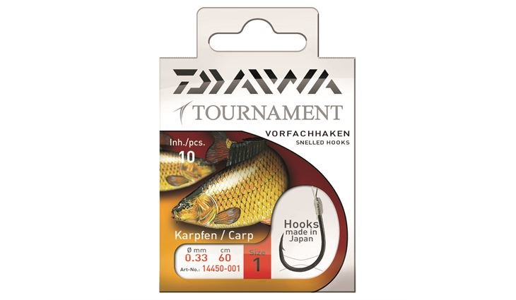 Daiwa Tournament Karpfenhaken Gr.1