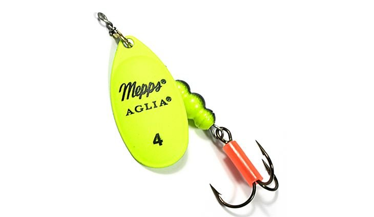 Mepps Aglia Fluo chartreuse Gr.3