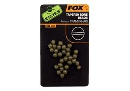 Fox Edges Tapered Bore Beads 4mm