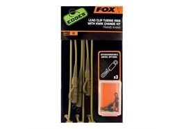 Fox Edges Tubing Leadclip Rig incl. Kwik Change Kit