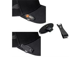 Zeck Fishing Hat Clip & Nipper
