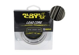 Black Cat Rubber coated Leader 100kg