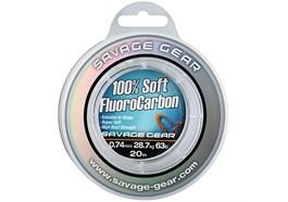 Savage Gear Soft Fluoro Carbon 0,81mm