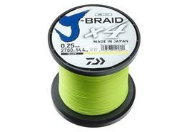 Daiwa J-Braid X4 2700m gelb