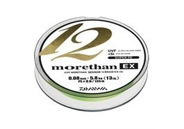 Daiwa Morethan 12 Braid EX+Si 300m lime green