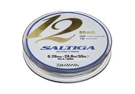 Daiwa Saltiga 12 Braid 600m Multicolor