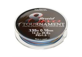 Daiwa Tournament EVO 8 Braid 300m Multicolor