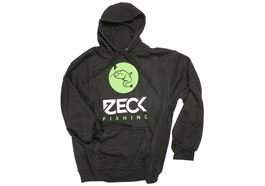 Zeck Fishing Zeck Hoodie Black NEW XS