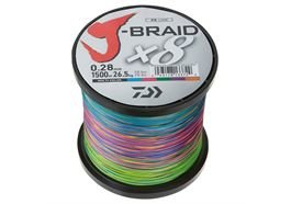 Daiwa J-Braid X8 1500m Multi-Color