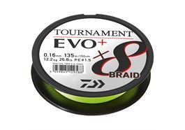 Daiwa Tournament X8 Braid EVO+ 270m CH