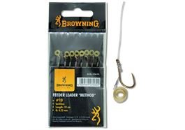 Browning Feeder Method Vorfachhaken mit Pellet-Band