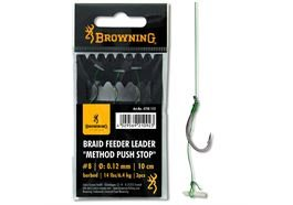 Browning Braid Feeder Leader Method Push Stop