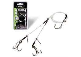 Mr. Pike Ghost Traces Twin Hook-Release-Rig
