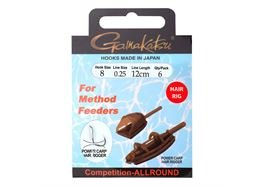 Gamakatsu BKD METHOD FEEDER HAIR 12cm